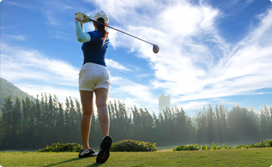 Golfer insurance